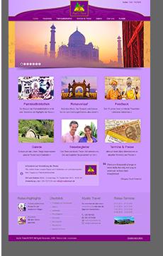 Webdesign Mystic Travel