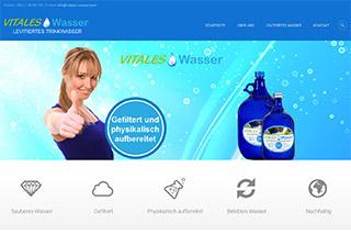 Screenshot Vitales Wasser